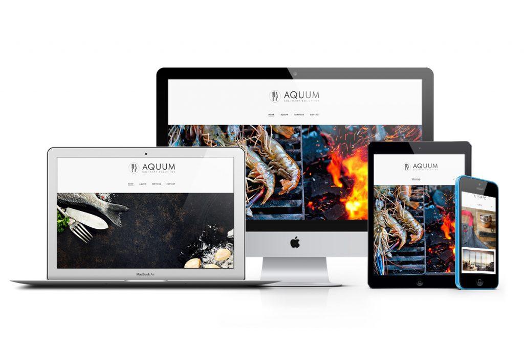 Aquum-Website